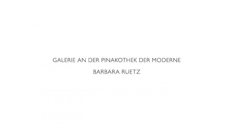 Galerie an der Pinakothek der Moderne / Barbara Ruetz -