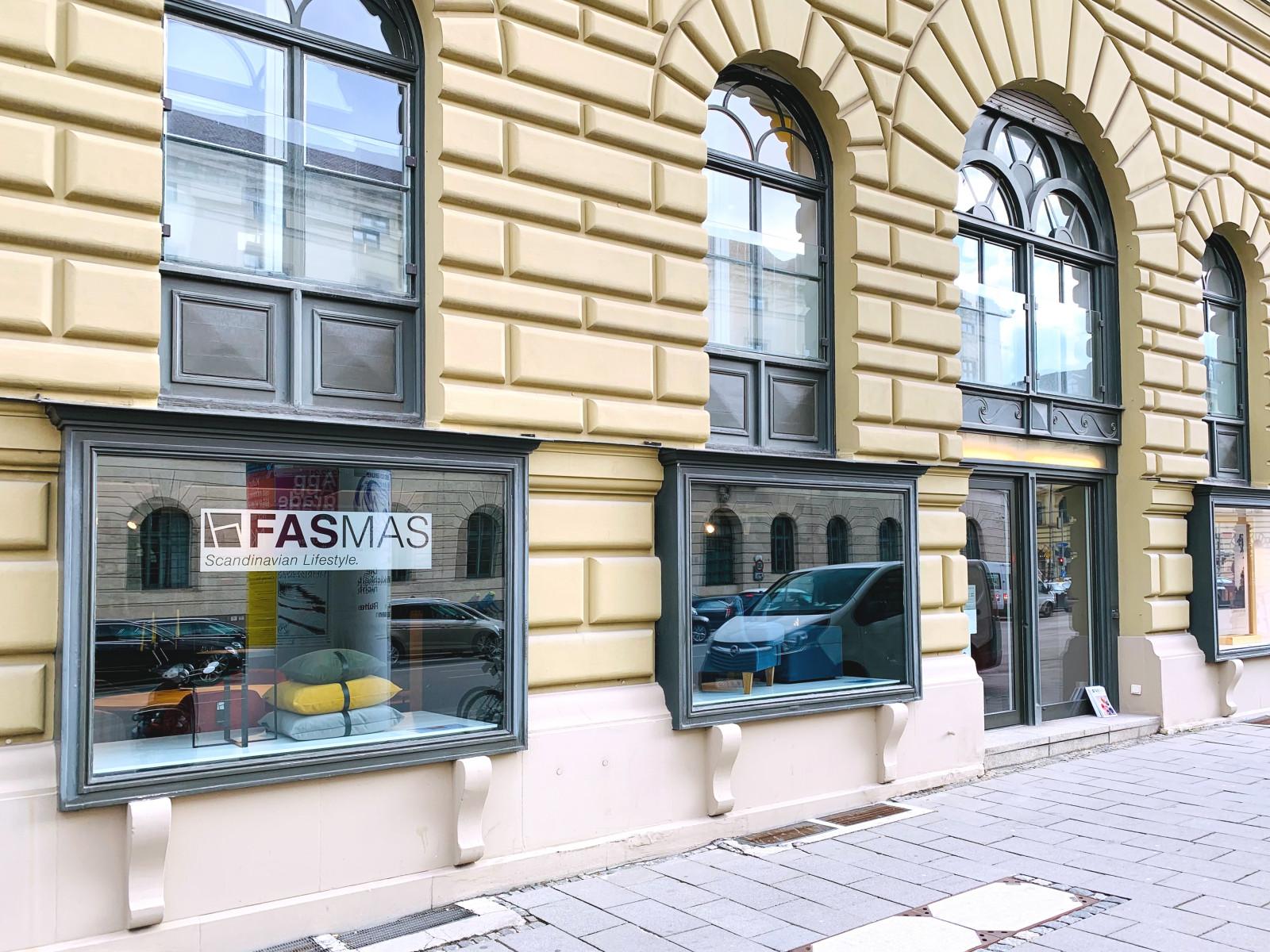 FASMAS-Showroom im Ludwigpalais in München