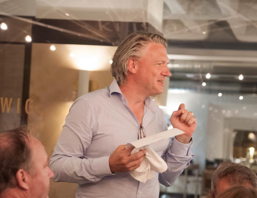 …denn Florian Spitta ist ein Gastronom mit Herzblut. Er überlässt nichts dem Zufall und bewirtet uns großzügigst!